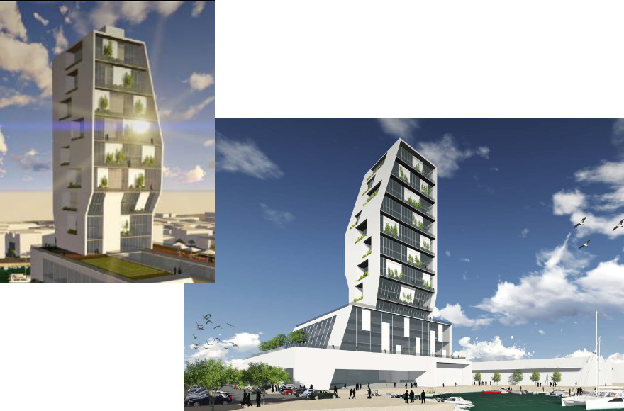 commercial residential building f 4